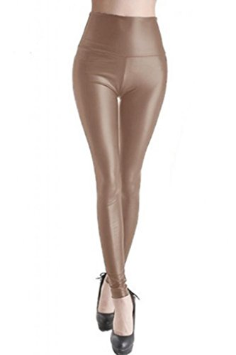 lotsyle-womens-high-waist-faux-leather-leggings-l