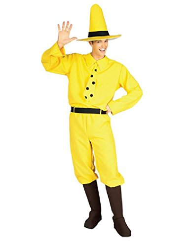 Mygem (Man With The Yellow Hat Costume Curious George)