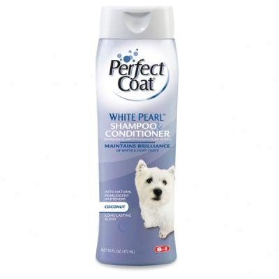Perfect Coat White Pearl Shampoo (White Coat Shampoo)