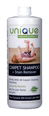 CARPET SHAMPOO QUART by UNIQUE MfrPartNo 221-3 by UNIQUE
