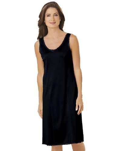 Velrose Wide Strap Slip, Black, 48 - 26