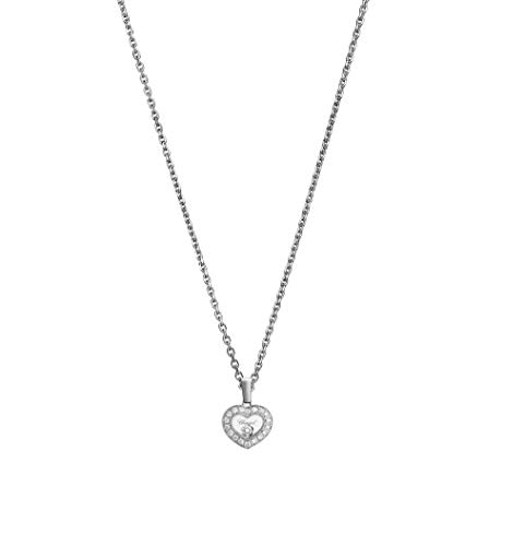 Chopard Happy Diamonds Icons Pendant 18K White Gold and Diamonds - 79A054-1201
