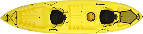 Emotion Spitfire Tandem Sit-On-Top Kayak, Yellow, 12' by eMotion
