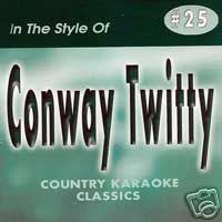 CONWAY TWITTY Country Karaoke Classics CDG Music CD ()