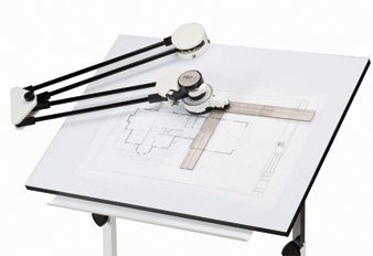 Harbor Freight Tools Drafting Machine - 1/2'' Steel Tubing Protractor Arms
