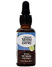 Aceite de NEEM Orgánico 100% puro sin diluir - Azadiractina - Natural Vegano Biodegradable- 30 ml 1.01 fl. oz- Bienestar Neem Erfre