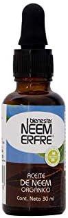 Aceite de NEEM Orgánico 100% puro sin diluir - Azadiractina - Natural Vegano Biodegradable- 30 ml 1.01 fl. oz-