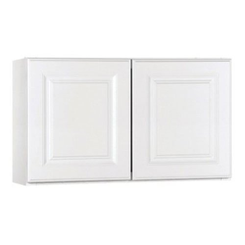 RSI HOME PRODUCTS SALES CBKW3018-SW White Finish Assembled Wall Cabinet, 30' by 18' by 12'