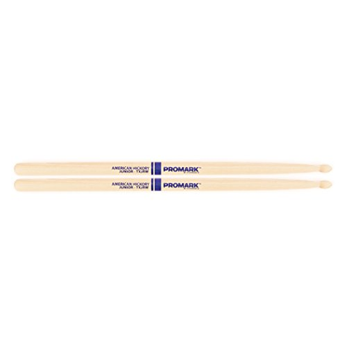 Promark TXJRW American Hickory Junior Wood Tip, Single Pair ()
