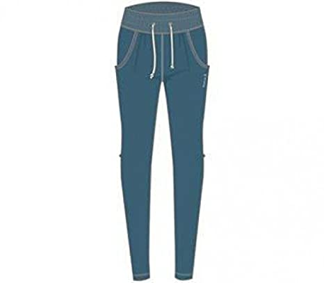 Reebok - Yoga Novelty Mujer Entrenamiento Pantalones, Azul ...