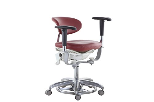 SoHome Microsope Dynamic Chair Foot Controlled Doctor's Mobile Stool with Swiveling Armrest MDS-FC1 by SoHome (Image #3)