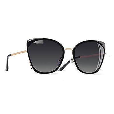 Fashion Ladies Cat Eye Sunglasses Women Polarized Sunglasses Female Unique Frame Gradient Lens UV400 A155