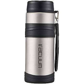 Amazon.com: Botella de agua de acero inoxidable con ...