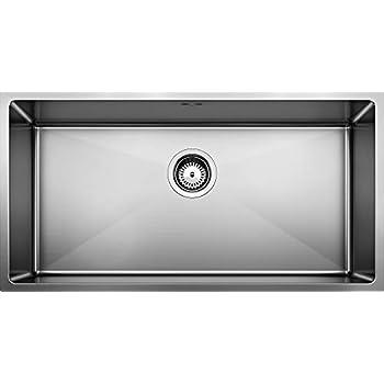 BLANCO 518172 QUATRUS R0 Undermount stainless kitchen Super Single Bowl sink