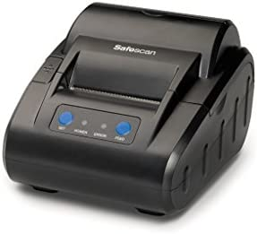 Safescan TP-230 Negra - Impresora térmica de recibos para Safescan 1250, 1450, 6165, 6185, 2465-S, 2665-S, 2685-S y 2985-SX: Amazon.es: Oficina y papelería