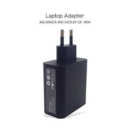 Amazon.com: Original 40W 20V 2A 5.2V 2A ADL40WCA USB Adapter ...