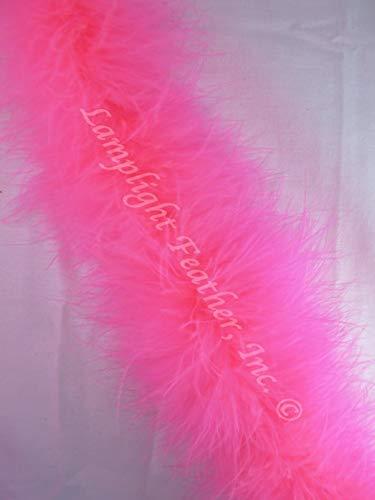 (Hot Pink Marabou Feather Boa 25 Gram per Each)