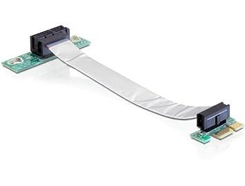 Delock 41839 Riser PCI Express Card 1 x Slot for 48.3 cm / 19 Inch Enclosure