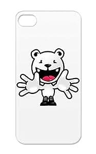 Welcome Cartoon Koala Funny Bear Teddy Polar Bear White Says (ddp) For Iphone 5/5s Shatterproof Case