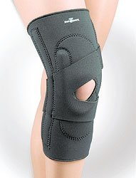Safe-T-Sport Lateral Knee Stabilizer Left Black Md