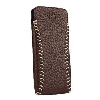 premium selection e97ac 63da0 Sena Cases UltraSlim for iPhone SE / 5 / 5s (Sarach Brown/Belga)