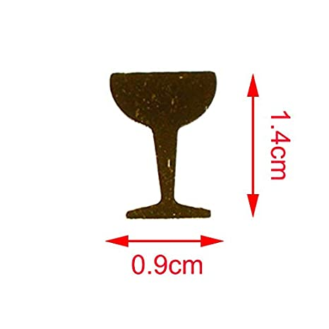Graduation Celebration Decorations Congratulating Themed Parties Cheers Sprinkles Black Bottle with Gold Glass 60g 1080Pcs Bottle Glass Table Scatter Confetti for Birthday Wedding