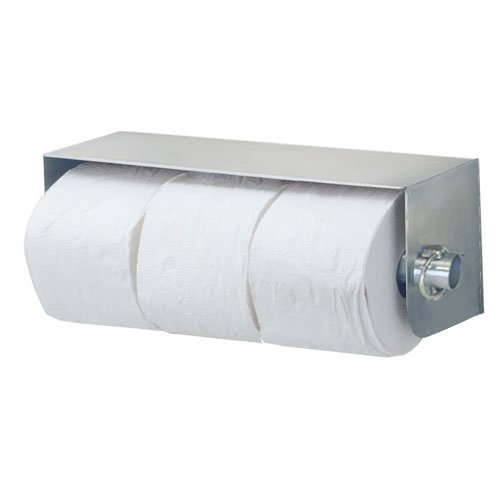 Royce Rolls Stainless Steel Standard Triple (Three-Roll) Toilet Paper Holder Dispenser - #TP-3 with #TP-CLIP