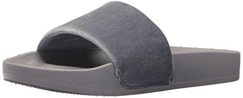 Slide Femmes Velvet Chooka Grey Chaussures 4Rzqg5wg