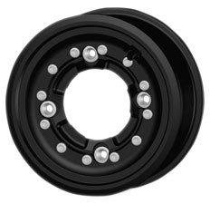 Hiper Wheel 10X5 FRTSNGLBDLCKCF1 4+1 4/144 Rim & Spoke Kits CF1 Wheels BLK10X5 4+1 4/144 HONDA, CANNONDALE, SUZUKI, KAWASAKI, ARCTIC CAT - 1050-HCFF-C-SBL-BK