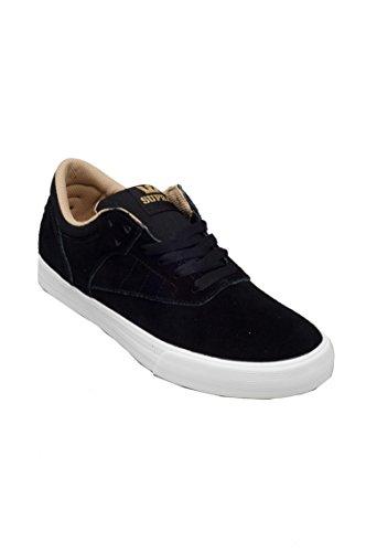 Supra Heren Phoenix Zwart Suede / Canvas Sneaker Heren 10.5, Dames 12 D (m)