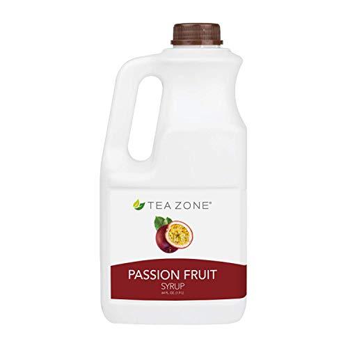 Tea Zone 64 fl. oz Passion Fruit Syrup