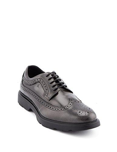 HOGAN Man , Chaussures de ville à lacets pour homme gris gris