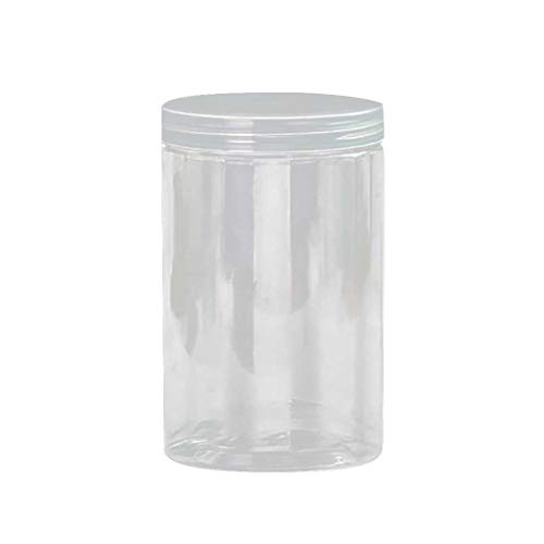Kitchen Storage Box,Clear Sealing Food Candy Preservation Plastic Fresh Pot Container (C) ()