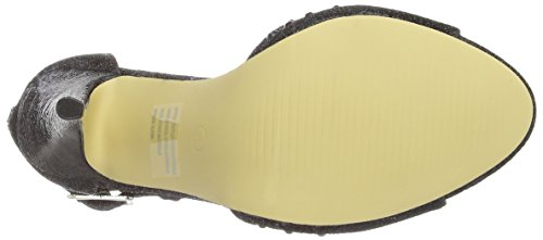 Dolcis Womens OLP294 Fashion Sandals Black Glitter Text TGIvQufh