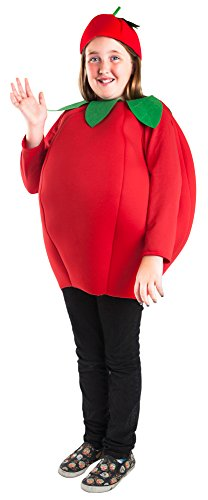 Bob The Tomato Costume Sale (Child Tomato Costume (Size: Medium 8-10))