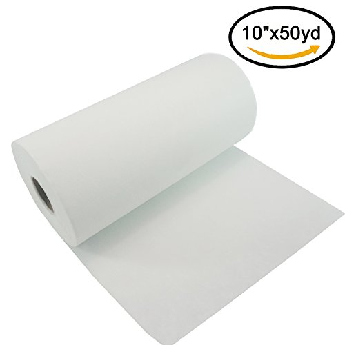 New Brothread Tear Away Machine Embroidery Stabilizer Backing 10″ x 50 Yd roll – Medium Weight 1.8 oz – Cut into Variable Sizes – for Machine Embroidery and Hand Sewing