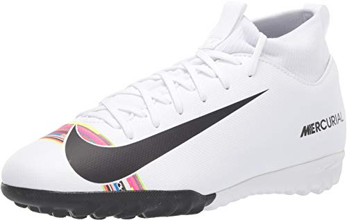 Nike Youth Soccer SuperflyX 6 Academy LVL UP Turf Shoes (6 Big Kid US) (Football Mercurial Shoes Nike)