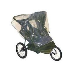 Comfy Baby! Universal Double Jogging Stroller Waterproof Rain Cover Wind Shield
