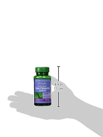 Saw Palmetto 1000 mg 90 cápsulas Blandas.: Amazon.es: Salud y cuidado personal