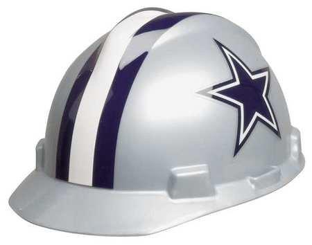 MSA 818392 NFL Hard Hat, Dallas Cowboys, Gray/Blue