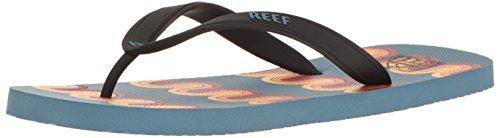 Reef Men's Switchfoot Prints Sandal, Blue/Multi Lines, 10 M US