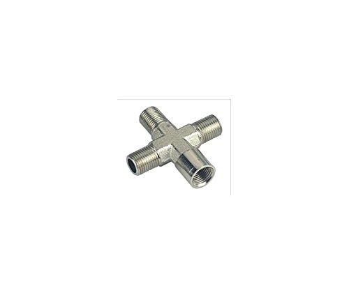 YummyInks Brand: Airbrush Air Hose 4-way Splitter (for YummyInks Brand: Heavy Duty Compressor/Airbrush)