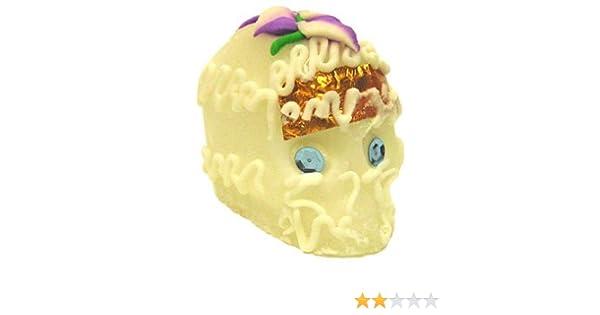 Amazon.com : Calaveras de Azucar - Sugar Candy Skull Dia de Muertos - Medium : White Sugar : Grocery & Gourmet Food