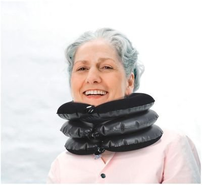 Inflatable Neck Traction Collar BY LIFEMAX by Lifemax
