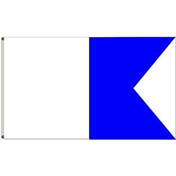 Slip on Style JCS Nylon Alpha Flag 42inch x 52inch