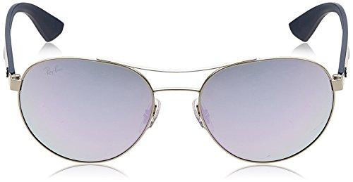 Argent Silver Ban RB Blue Ray Sonnenbrille 3536 wdg6qxIX