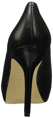 Bomba de vestir de cuero de imitación-Nine West Qtpie Black Leather