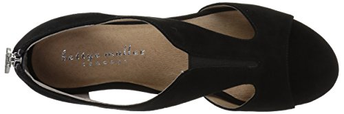 Women's Shaye Sandal Muller Black Wedge Bettye 8qET5wn