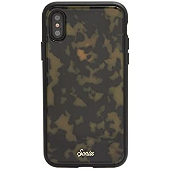 iPhone Xs, iPhone X, Sonix Brown Tort (Tortoiseshell) Cell Phone Case [Military Drop Test Certified] Protective Luxe Tortoise Shell Series for Apple iPhone ...