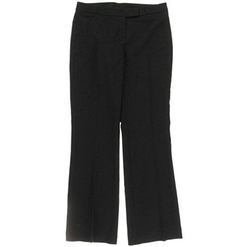 Anne Klein Women's Modern Boot Pant, Black, 6